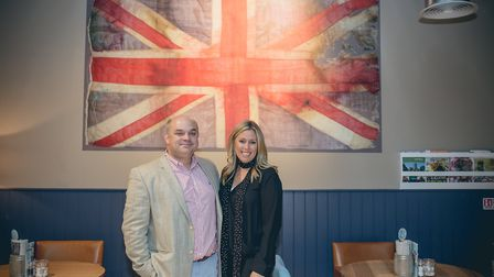 Andrew and Katy Nelstrop, owners of The Kitchen and St George�s Distillery. Picture: The English Whi