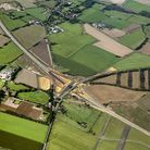 Aerial view of the NDR Northern Distributor Road. Sept 2017. Picture: Mike Page