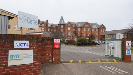 Cefas will be demolishing its current site at the Grand Hotel. Picture: James Bass