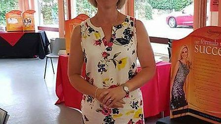 Lisa Atkinson has launched a new Slimming World group to inspire others. Picture: Lisa Atkinson.