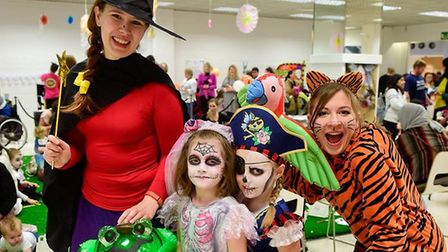 The Halloween Kastle Kids event at Norwich's Castle Mall provided buckets of spooky fun for children