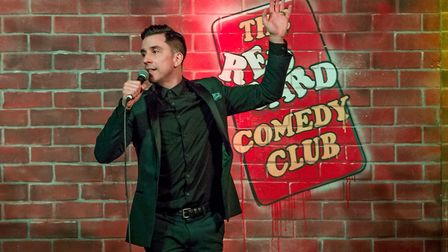 Laugh in the Park 2017 performer Russell Kane. Photo: supplied by Red Card Comedy Club