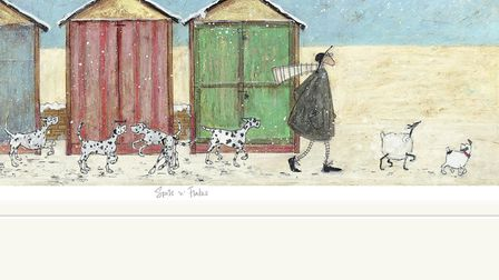 Spots 'n' Flakes by Sam Toft. Picture Sam Toft � Artist, published by Collier and Dobson.