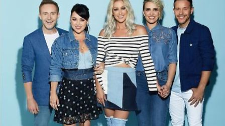 Steps are performing at Euston Hall in July 2018. Picture Fascination.