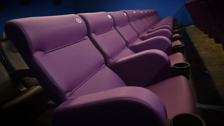 Gorleston Palace Cinema prepares to open its doors to the public on Monday.Picture: ANTONY KELLY