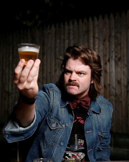 Comedian Glenn Wool will be perforimng at The Red Card Comedy Club's 15th birthday show. Photo: sup