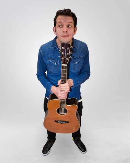 Jonny Awsum will be performing at The Red Card Comedy Club's 15th birthday show. Photo: supplied by
