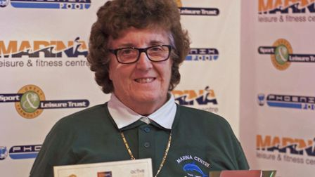 Great Yarmouth Sports Awards. Betty Brown, Inspirational Sports Personality. Picture: submit
