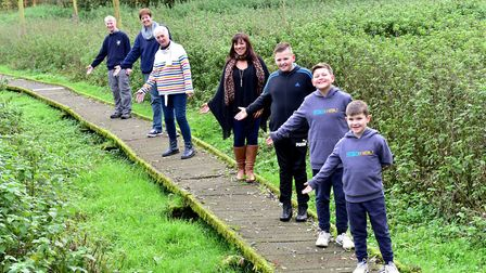 A campaign has been launched to repair the boardwalk at the Norfolk and Suffolk Aviation museum.Ste