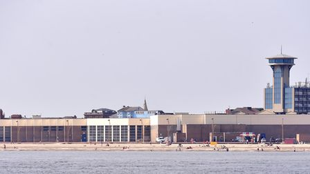Views from sea of the Yarmouth Outer Harbour, Marina Centre and seafront. Picture: Nick Butcher