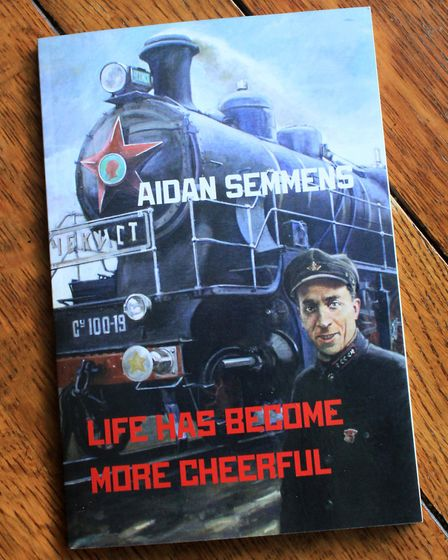The cover of Aidan's new book.