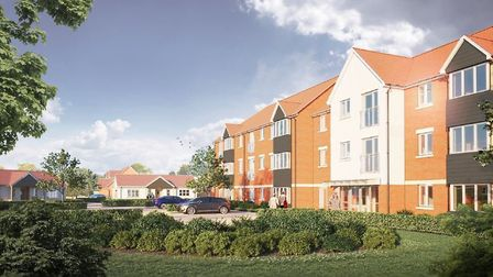 McCarthy and Stone plans to build retirement homes on former abattoir site. Pictures: McCarthy and S