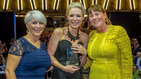 Zowie Bedford won the pride and achievement award at Norse Care's annual ceremony. Picture: Lee Blan