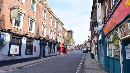 Lowestoft High Street and Scores. Picture: Nick Butcher