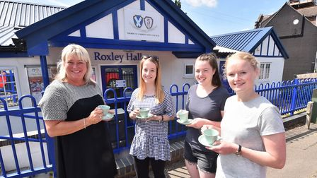 Roxley Hall in Thorpe St Andrew is also home to the town's dementia cafe. Hayley Howes, left, from