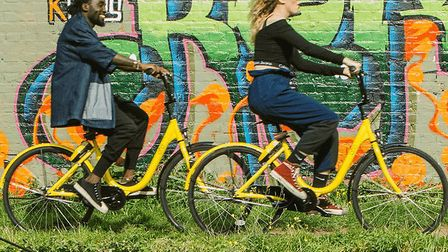 Norwich is to become the fourth UK city to host the bike sharing service. Picture: ofo UK