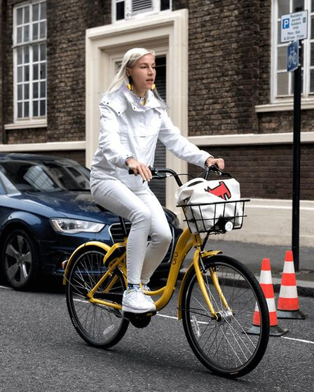 The world's first and largest dockless bike sharing company is launching in Norwich. Picture: ofo UK