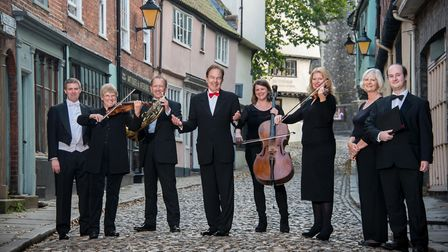 Hansells is sponsoring the Norwich Philharmonic Society 2017-2018 season. Pictured left to right: M