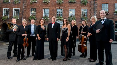 Hansells is sponsoring the Norwich Philharmonic Society 2017-2018 season. Pictured left to right: