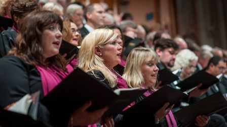 Norwich Philharmonic Chorus at St Andrews Hall in Norwich. Photo: Bill Smith