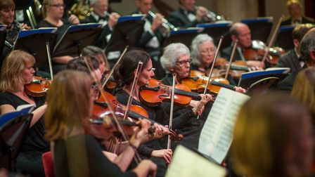 Norwich Philharmonic Orchestra at St Andrews Hall. Photo: Bill Smith