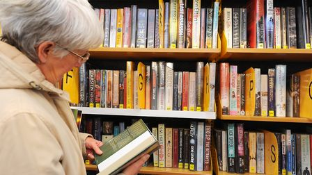 Community librarian roles are under threat because of council cuts. Picture: James Bass