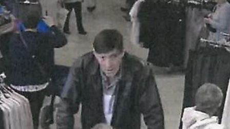 Police release CCTV image of man. Picture: Norfolk police