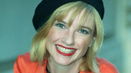 Jane Horrocks, best known for her role as Bubble the secretary in Absolutely Fabulous. Photo by Fion