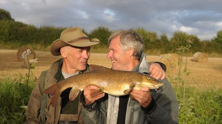 John Bailey shows barbel can be caught and can be fin perfect too. Picture: John Bailey