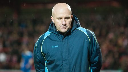 Ady Gallagher has stepped down as Lowestoft Town boss. Picture: Matt Wilkinson/Focus Images