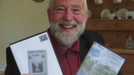 David van der Hulks has helped bring some of the history of Diss to DVD. Picture: Friends of the Dis