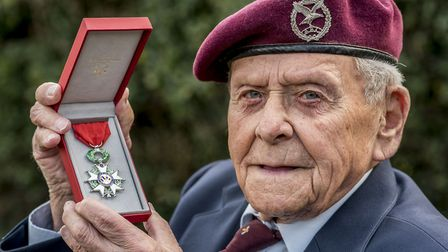 Normandy veteran Jack Griffiths from Mattishall, has been awarded the Legion d'honneur by France. Pi