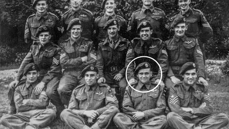 Normandy veteran Jack Griffiths from Mattishall, has been awarded the Legion d'honneur by France - P