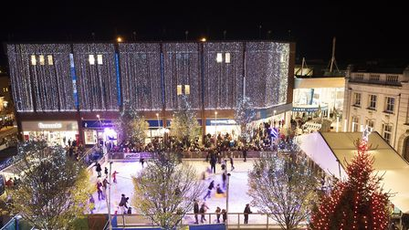 The ice rink that was in Great Yarmouth two years ago. Photo: Submitted
