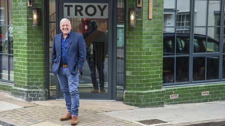 Warren Troy, managing director of Troy Group, is photographed for the Grant Thornton Faces of a Vib