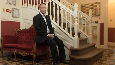 Tom Lyons, managing director of Black Swan International, is photographed for the Grant Thornton Fa