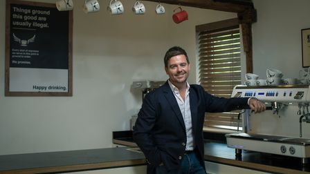 Scott Russell, chief executive of Paddy and Scott's, is photographed for the Grant Thornton Faces of
