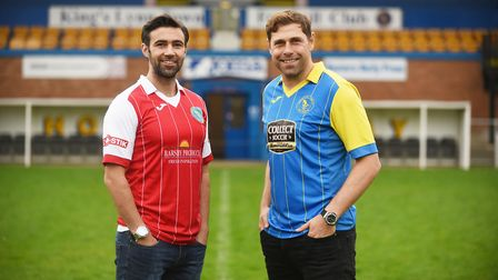 And then there was one - Grant Holt, right, and Simon Lappin when they were unveiled at The Walks. P