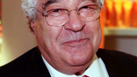 File photo dated 16/11/00 of Celebrity chef and restaurateur Antonio Carluccio, who has died at the