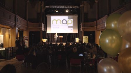 The MAP celebration event at St George's Theatre in Great Yarmouth. Picture: Meantime Media