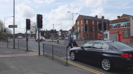 The junction of Churchill Road and Norwich Road, in Wisbech, where Jamie Butcher was killed in Febru