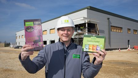 Craig Taylor, managing director of Natures Menu, at the company's new site in Snetterton during its