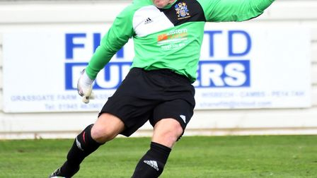 Wisbech Town goalkeeper Paul Bastock is set to break the world record for competitive appearances. W