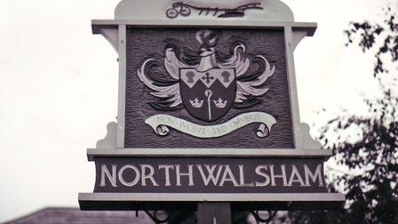 A North Walsham pre-school has been forced to close. Picture shows the town sign. Photo: Archant Lib