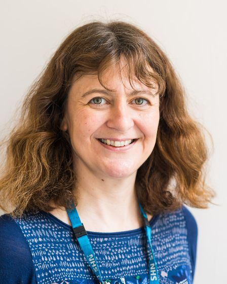 Nesta Reeve, Norfolk and Suffolk NHS Foundation Trust�s (NSFT) Clinical Service Lead for Wellbeing s