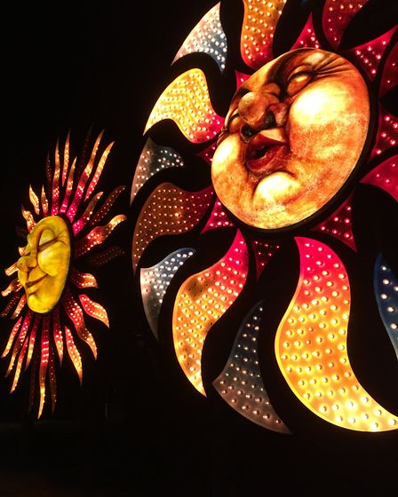 The illuminations were absolutely amazing in Blackpool. Picture submitted