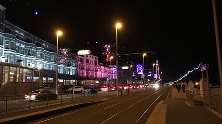 The lights and the grand seafront was everything I imagined. Pic submitted