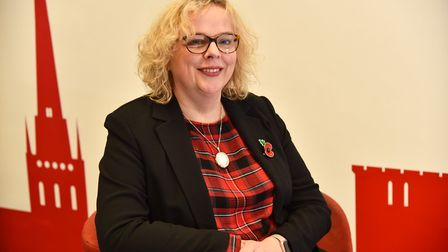 Gina Dormer, the new Chief Executive at the NNAB Byline: Sonya Duncan Copyright: Archant 2017