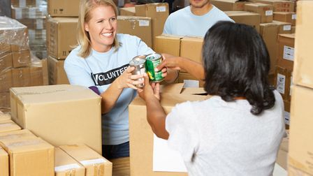 Donate to your local food bank this Christmas. Picture: Getty Images/istockphoto