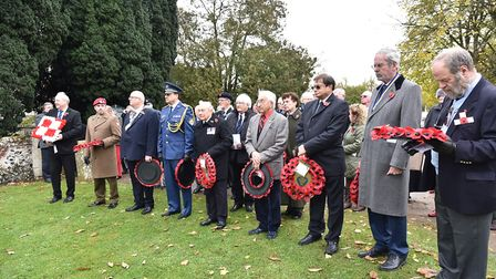 A special annual Remembrance Service at St Ethelbert's Church in Wretham where Czech, Slovac and Pol